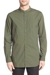 Zanerobe 'Tuck Seven Ft' Woven Shirt Green