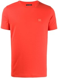 Acne Studios Classic T Shirt Red