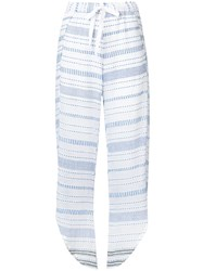 Lemlem Tiki Fly Away Trousers Blue