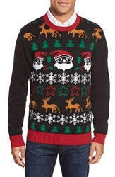 Men's The Rail Holiday Jacquard Crewneck Sweater