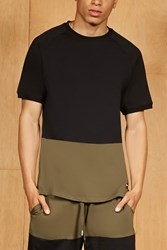 Forever 21 King London Colorblock Tee Black Olive