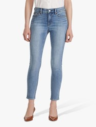 Ralph Lauren Premier Skinny Ankle Jeans Light Worn Wash