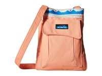Kavu Keeper Coral Cross Body Handbags