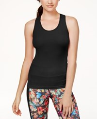 Jessica Simpson The Warm Up Rib Knit Tank Top Only At Macy's Jet Black