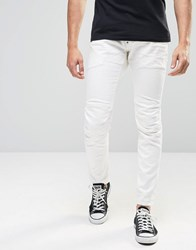 G Star G Star Jeans Elwood 5620 3D Super Slim Stretch 3D White Raw 3D Raw