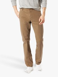 Dockers Smart 360 Flex Alpha Slim Tapered Trousers Leather