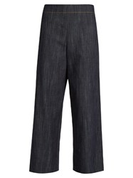 Adam By Adam Lippes Wide Leg Cropped Jeans Denim