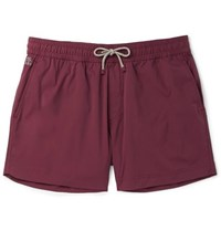 Brunello Cucinelli Mid Length Swim Shorts Burgundy
