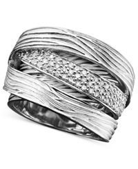 Effy Collection Balissima By Effy Diamond Wrap 1 3 Ct. T.W. In Sterling Silver