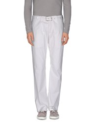 Exte Trousers Casual Trousers Men White