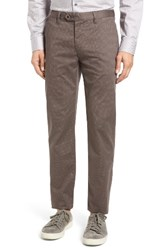 Ted Baker Men's London Exmoor Print Chino Trousers