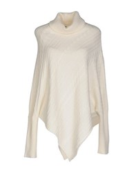 Cooperativa Pescatori Posillipo Knitwear Turtlenecks Women Ivory