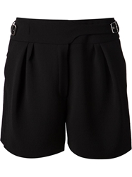 Nina Ricci Buckle Detail Shorts Black