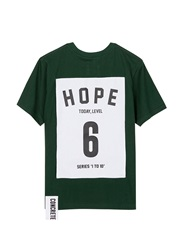 Studio Concrete 'Series 1 To 10' Unisex T Shirt 6 Hope Green