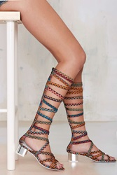Nasty Gal Enyo Knee High Gladiator Heel