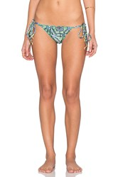 My Own Summer Arpoador Ruffle Edge Bikini Bottom Green