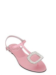 Roger Vivier 10Mm Chips Swarovski Satin Sandals