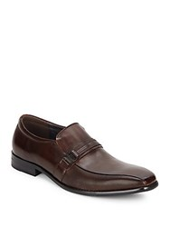 Kenneth Cole Reaction Bicycle Toe Slip On Shoes Brown