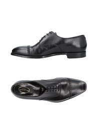 George Cleverley Lace Up Shoes Black