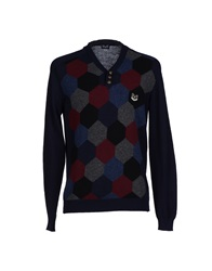 Dandg D And G Sweaters Dark Blue