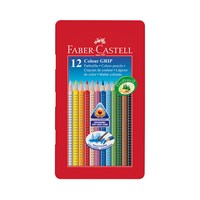 Faber Castell Colour Grip 2001 Pencils Tin Of 12