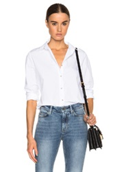 Mih Jeans Flight Top In White