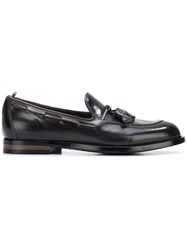 Officine Creative Classic Tassel Loafers Grey