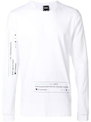 P.A.M. Perks And Mini Pam Comment Print Top White