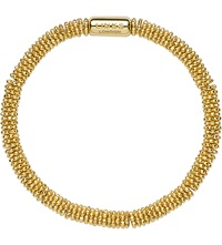 Links Of London Effervescence Star Extra Small Yellow Gold Vermeil Bracelet Gold Plated Silver