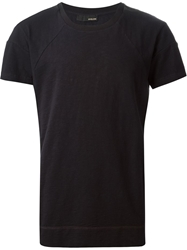 Avelon Raglan T Shirt Black
