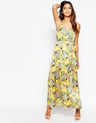Traffic People Odyssey Flaunt It Maxi Dress Yellow
