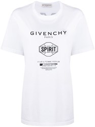 Givenchy Mixed Print Cotton T Shirt 60