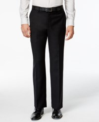 Michael Michael Kors Black Solid Dress Pants