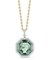 Ivanka Trump Empire Large Prasiolite Pendant Necklace