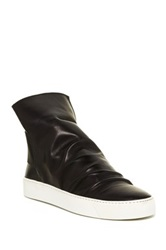 Manas Design Luce High Top Sneaker Black