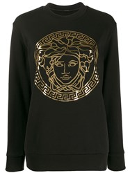 Versace Medusa Head Sweatshirt Black