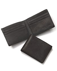 The Men's Store At Bloomingdale's Black Leather Bifold Wallet