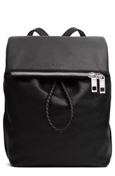 Rag And Bone Loner Leather Backpack Black