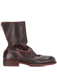 Guidi Relaxed Low Heel Ankle Boots 60