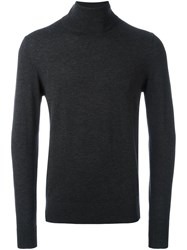Aspesi Turtle Neck Sweater Grey