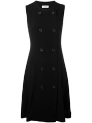 Alberto Biani Double Breasted Dress Black