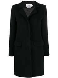 Closed Single Breasted Coat Black