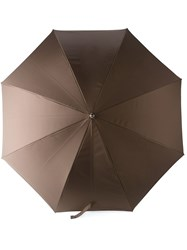 Etro Contrasted Handle Umbrella Green