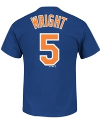 Majestic Men's David Wright New York Mets Official Player T Shirt