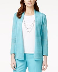Alfred Dunner Layered Necklace Top