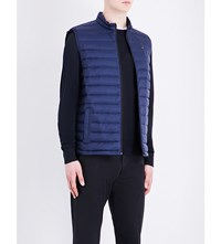 Tommy Hilfiger Packable Quilted Shell Gilet Navy Blazer Pt