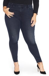 Rebel Wilson X Angels Plus Size Women's The Icon High Rise Super Skinny Jeans Sunset