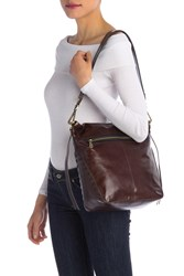 Hobo Banyon Leather Shoulder Bag Espresso