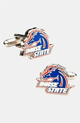 Ravi Ratan Men's Cufflinks Inc. 'Boise State Broncos' Cuff Links Blue Orange