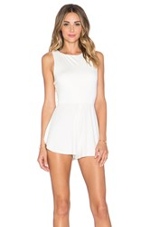 Rachel Pally Joan Romper White
